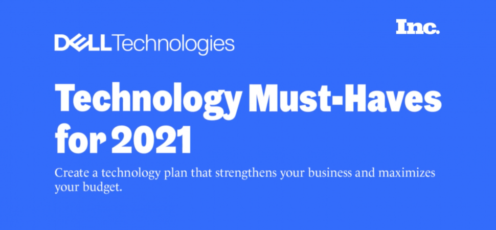 Technology Must-Haves for 2021 image