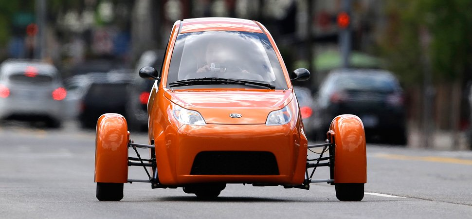 The Three Wheeled Elio Car Is Technically A Motorcycle But With All Features Of Airbags Radio Anti Lock Brakes It Might Be About To Change