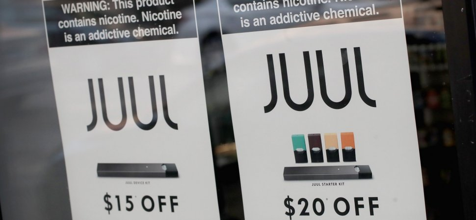Well, This is Awkward  Juul, the E-Cig Company, Just Had to