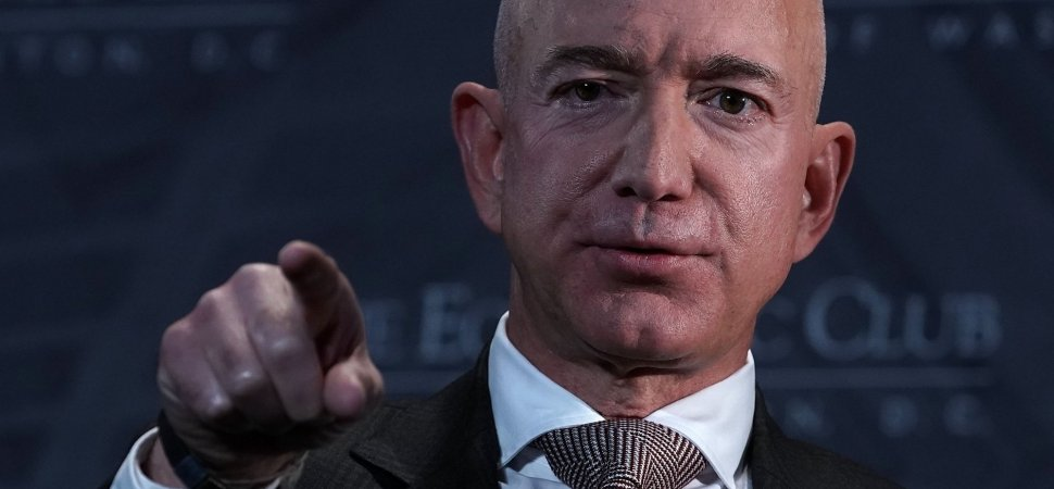 Jeff Bezos Sends Amazon Managers Scrambling With This Single Keystroke