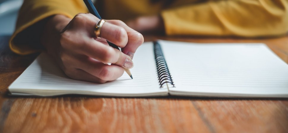 Build Self-Esteem by Writing About Yourself image