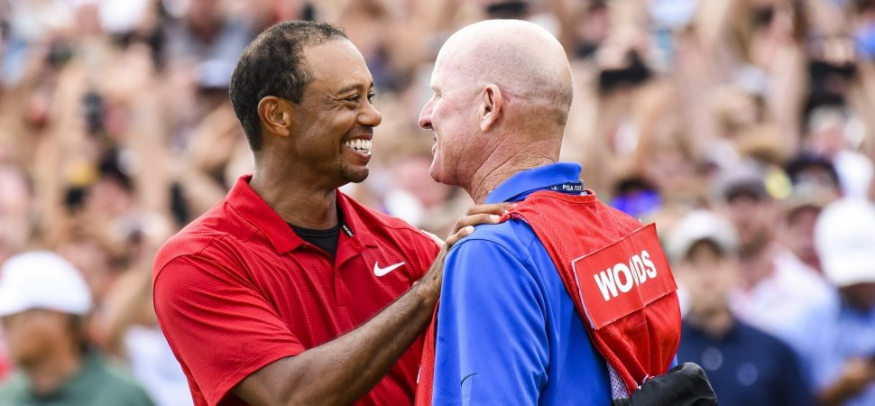 Tiger Woods Got 3 Words of Advice From His Caddie During the