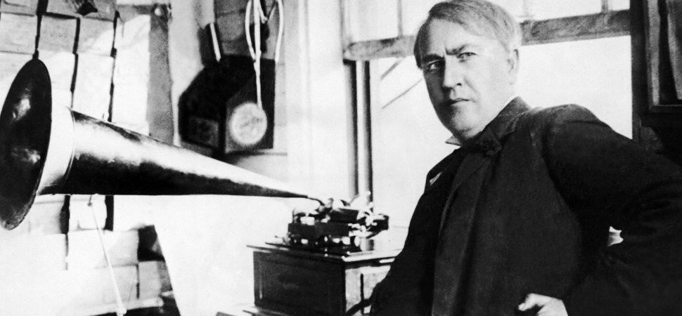 100 Years Ago, Thomas Edison Perfectly Described the Difference Between Successful Innovators and Those Who Only Dream