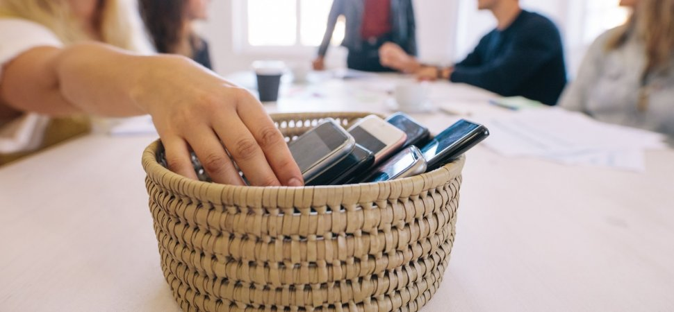 Could a Basket Make Your Next Meeting More Productive? image