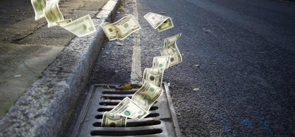 7 Ways to Stop Throwing Money Down the Drain | Inc com