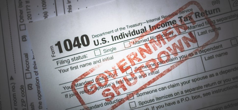 Worried the Government Shutdown Will Delay Your Tax Refund