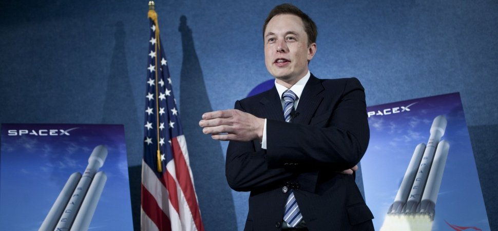 CEO of SpaceX And Tesla Motors Makes Announcement On SpaceX\