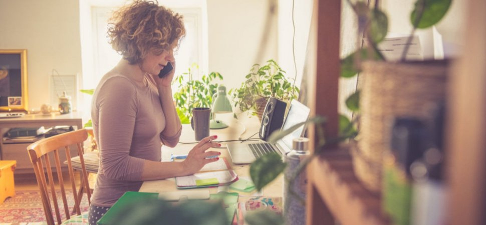 Productivity Can Increase When Employees Work Remotely image