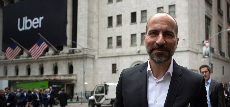 Uber's CEO Sent an Extraordinary Email to Employees After the Company's Stock Plunged