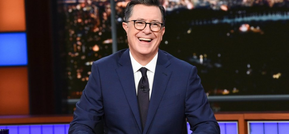 With 10 Short Words, Stephen Colbert Just Taught an Extraordinary Lesson About Life, Happiness, and Gratitude