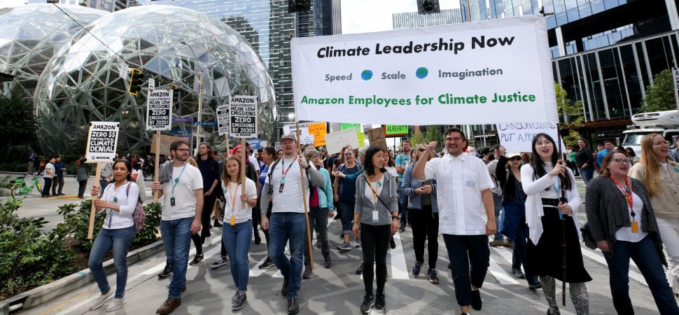 Muzzling Employees Is a Dumb Move. Amazon's Climate Protesters Show Why