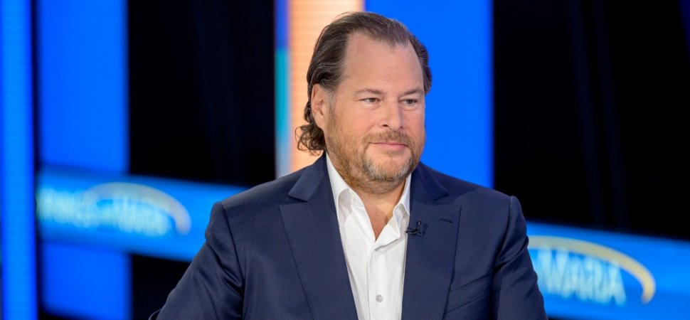 Salesforce CEO Marc Benioff Runs a $143 Billion Company From an iPhone. Here's Why That Makes Perfect Sense