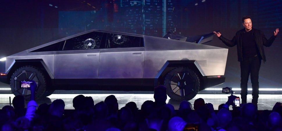 Tesla's Broken-Glass Cybertruck T-Shirt Is a Beautiful ...