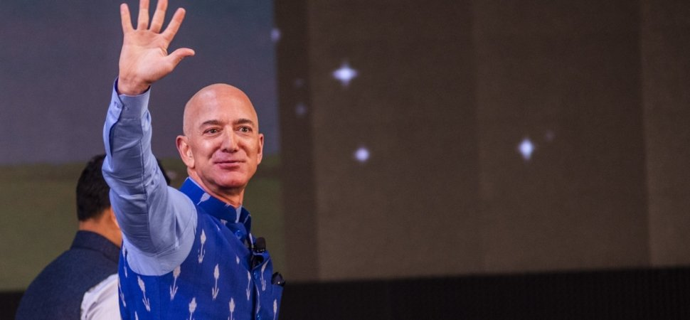Amazon Just Passed $1 Trillion, and Jeff Bezos Let Loose On Instagram. Here's What Prompted His Curious Post