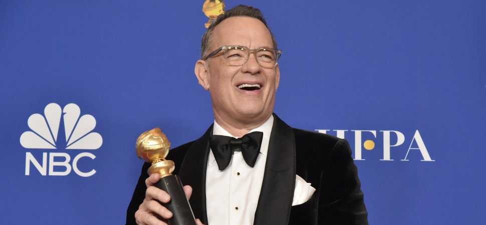 Hidden in Tom Hanks's Emotional Golden Globes Speech Was the Best Career Advice You'll Hear Today. Here It Is in 1 Sentence