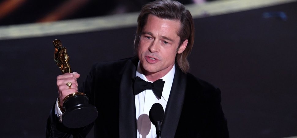 Brad Pitt's Oscar Win Reveals a Crucial Lesson Most People Learn Too Late in Life