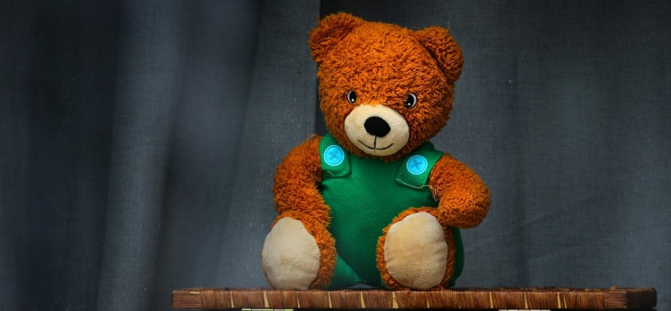 Here's Why You Should Put a Teddy Bear in Your Window Right Now