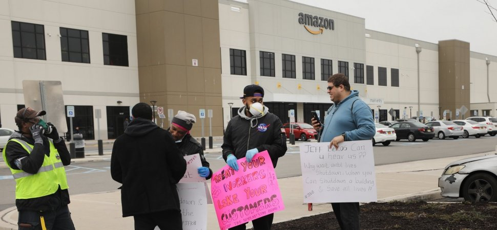 Amazon Strike Offers a Lesson in Taking Care of Your People