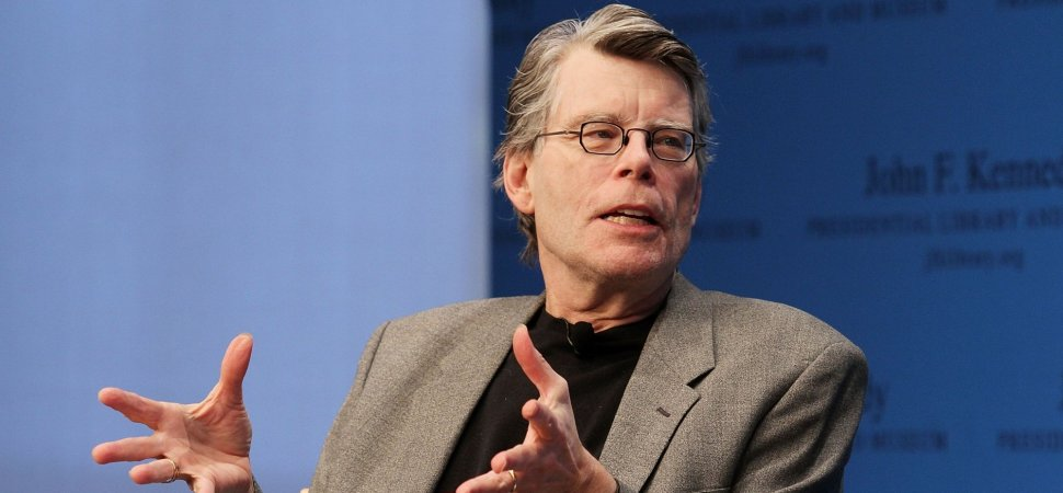 Meet the guy stephen king turns to when he needs help finishing a stephen king m4hsunfo