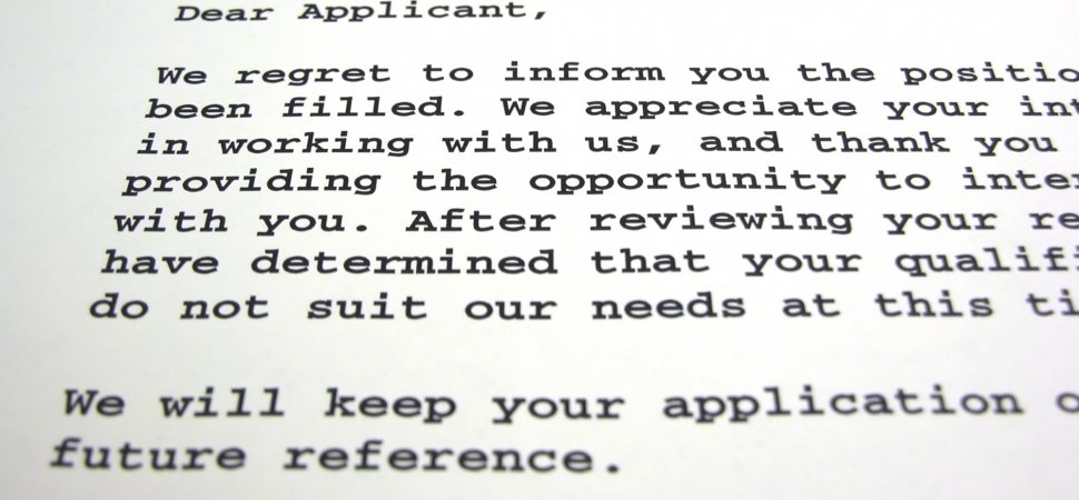 Why Don't Employers Tell Job Candidates Why They Were Rejected?