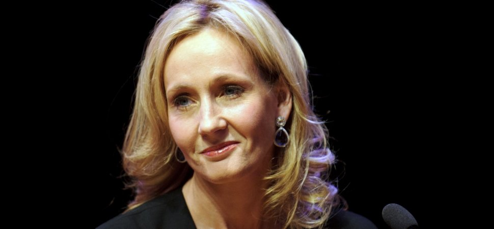 J.K. Rowling Says 1 Decision Separates People Who Achieve Success From Those Who Only Dream