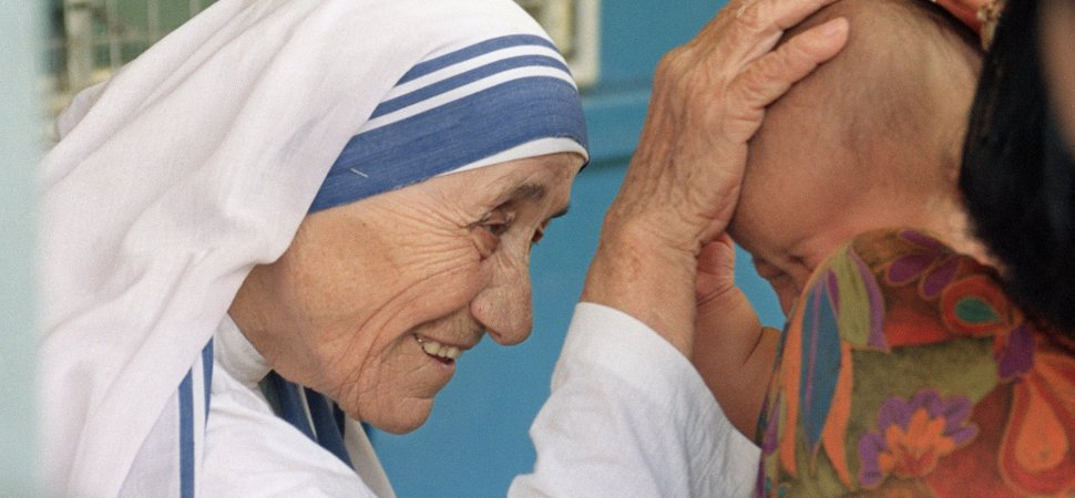 mother teresa short biography for kids