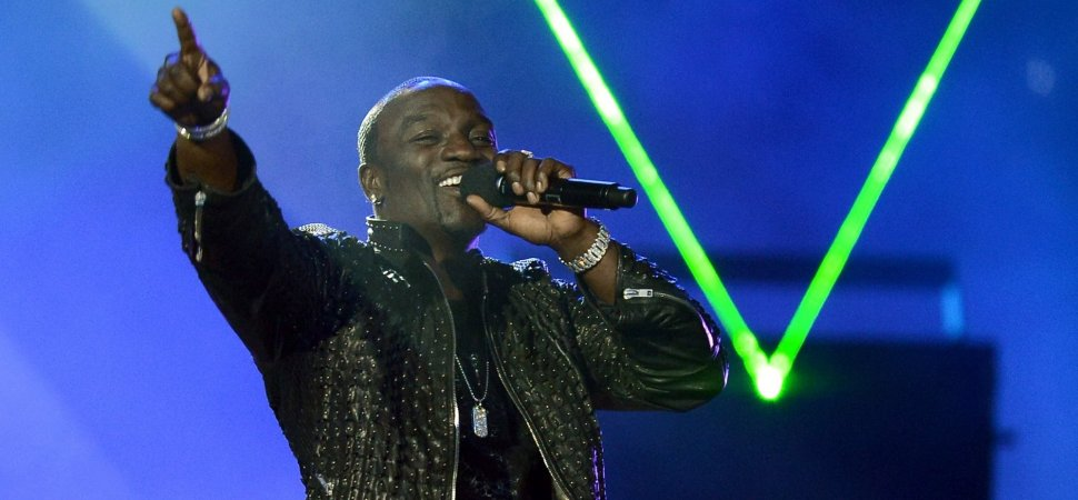 Hip-Hop's Akon to Debut New Albums on His Own 'Stadium' App