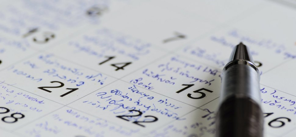 why the most successful people schedule their free time inc com