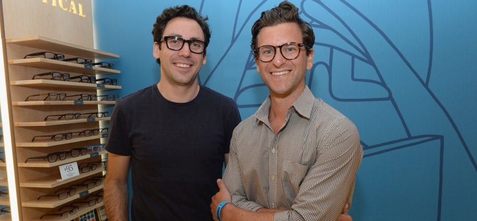 Neil Blumenthal and Dave Gilboa from Warby Parker