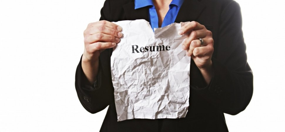 When No Resumes Makes For Better Hiring Inc Com