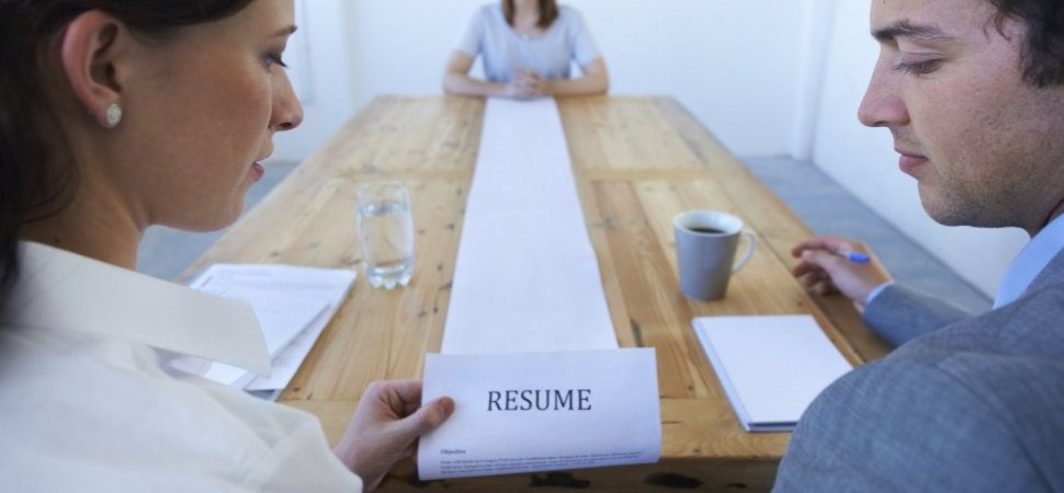 is the one page resume rule dead inccom