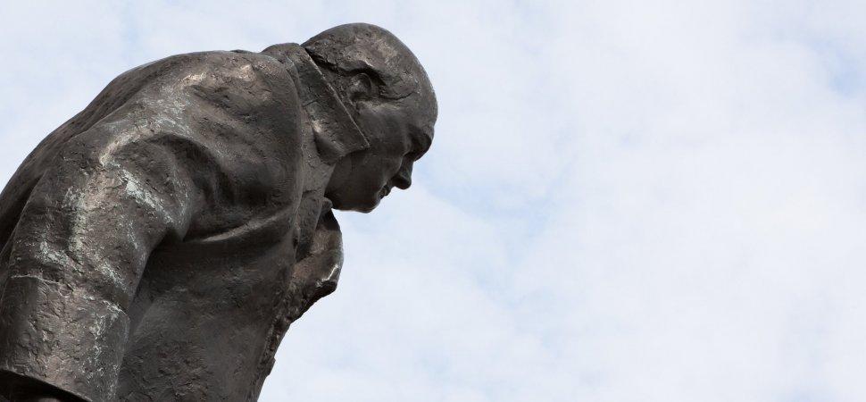 To Master Public Speaking, Listen to Winston Churchill image