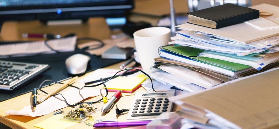 A Messy Desk Is A Sign Of Genius According To Science