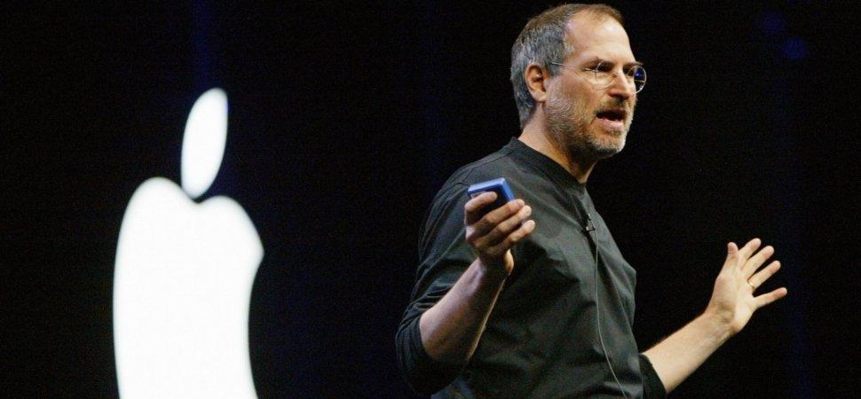 Steve Jobs' presentation style