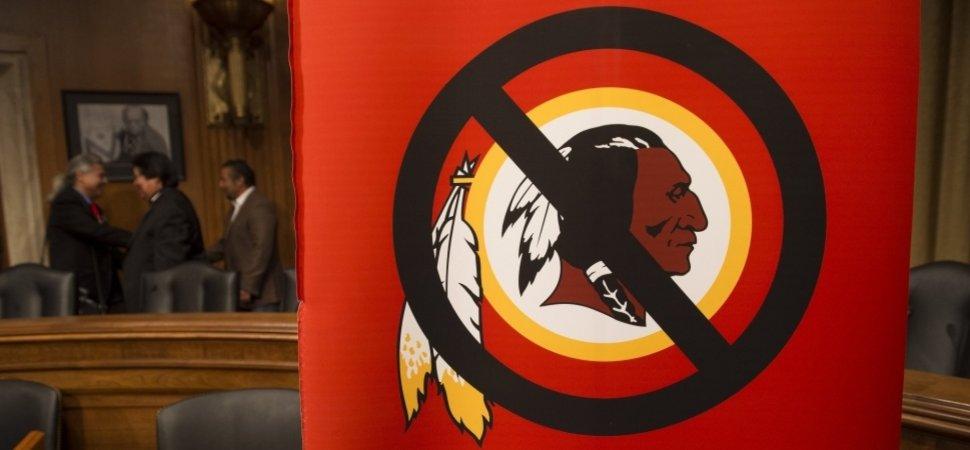 change the mascot redskins