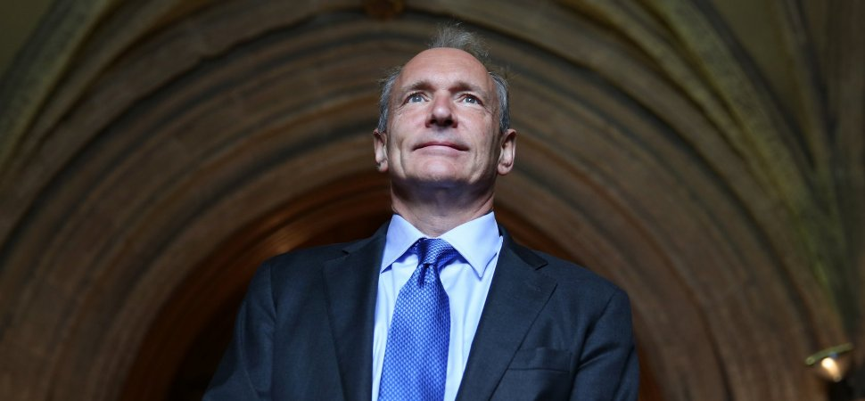 The Internet Is Broken and Tim Berners-Lee, the Man Who Invented the World Wide Web, Thinks He Has a Plan to Fix It