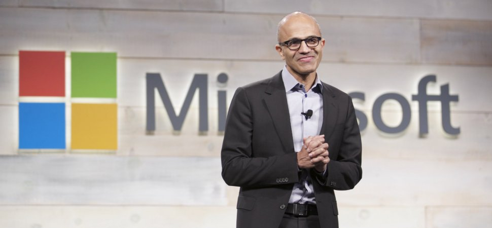 microsoft s ceo sent an extraordinary email to employees after they