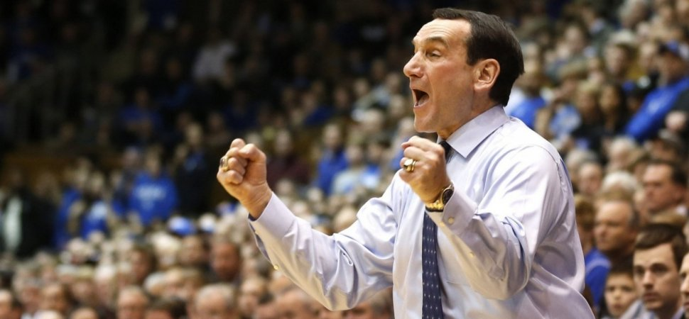 Duke's Coach K Just Shared a Lesson on the 1 Thing You Need to