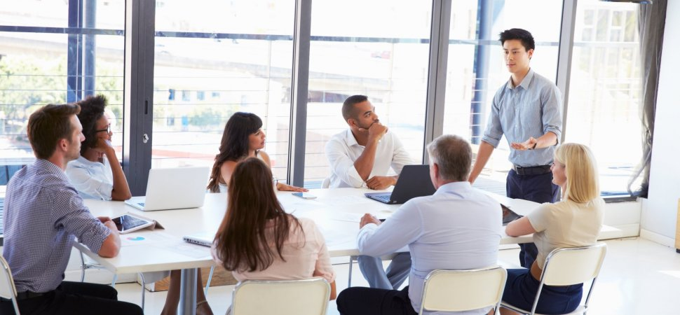 Collaborative Approach Classroom ~ Things to do before a business meeting and after you
