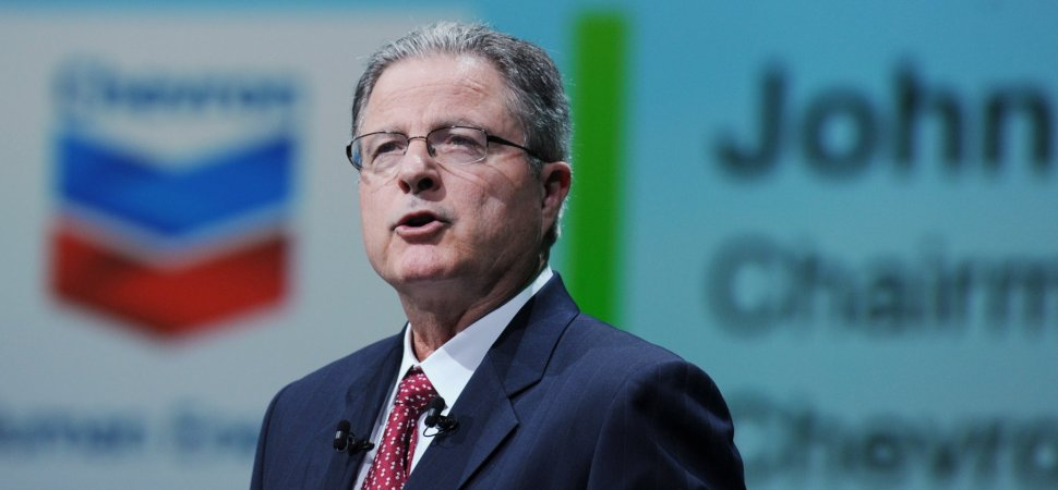 Chevron's CEO Just Wrote an Extraordinary LinkedIn Message That Is a Master Class in Leadership