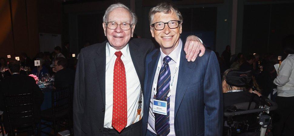 Bill Gates Warren Buffet And Jeff Bezos All Take Advantage Of