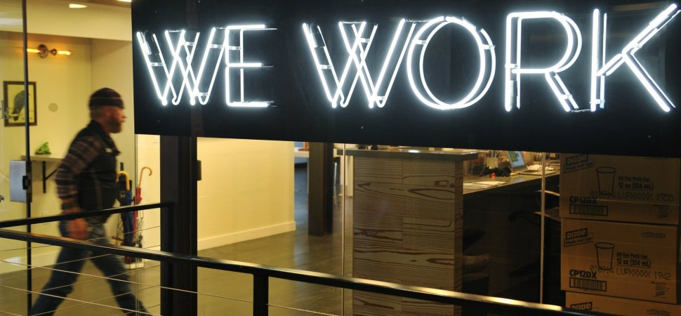 Microsoft Is Giving 3,000 Employees WeWork Memberships to