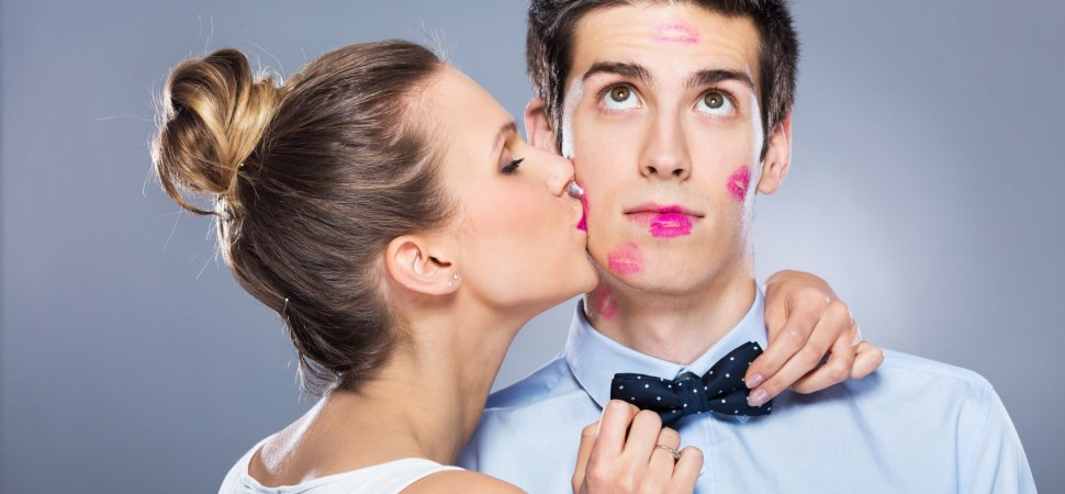 Lustful office workers fight with stress