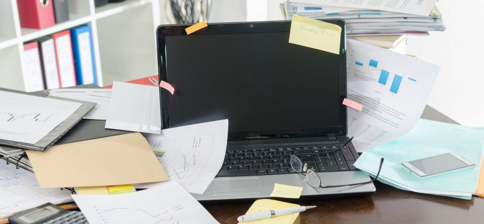 Tired of a Messy Desk? Try These 7 Tips to Declutter | Inc.com
