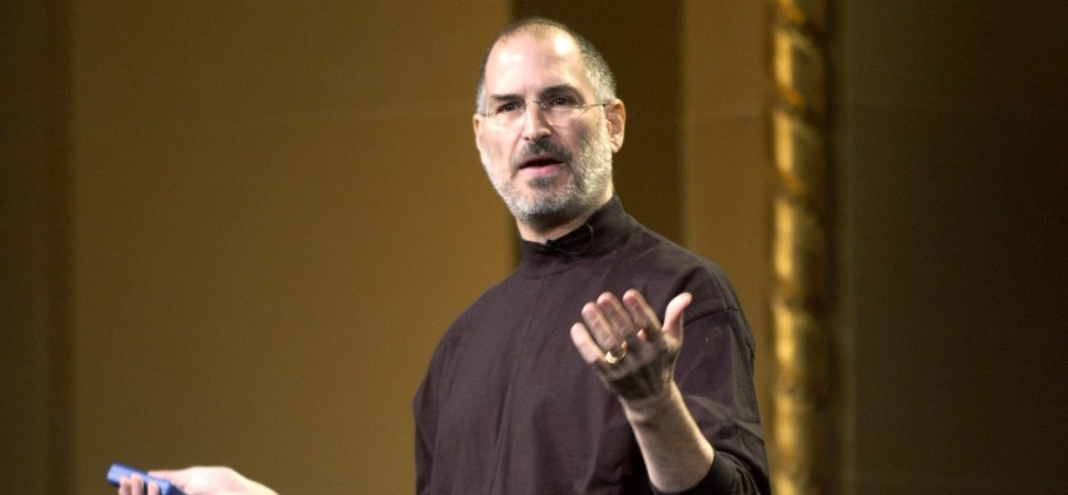Steve Jobs Used This Simple Rule of Success to Reinvent Apple When the Company Was on the Ropes