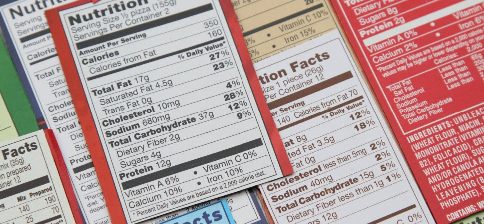 FDA Delays the Rollout of the New Nutrition Fact Labels