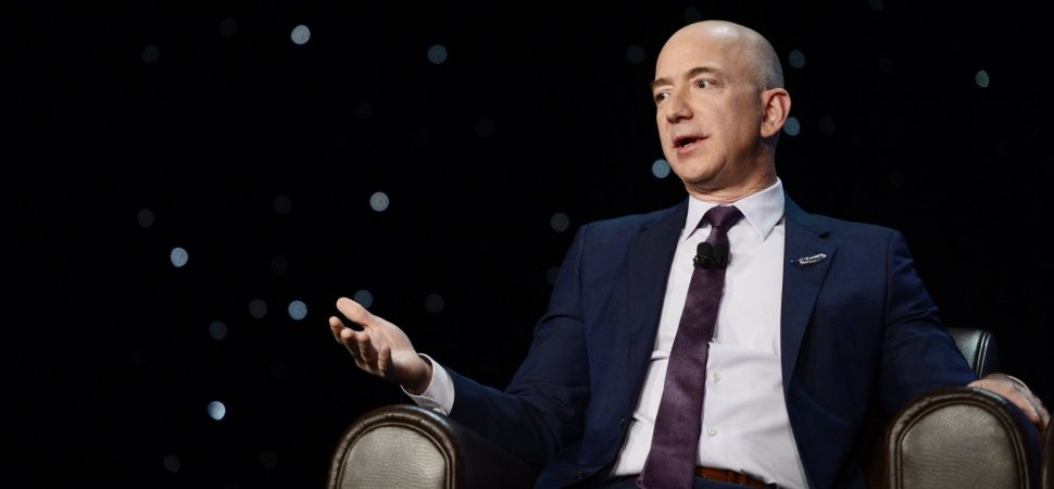 Here's What Jeff Bezos Says to Do When People Criticize You