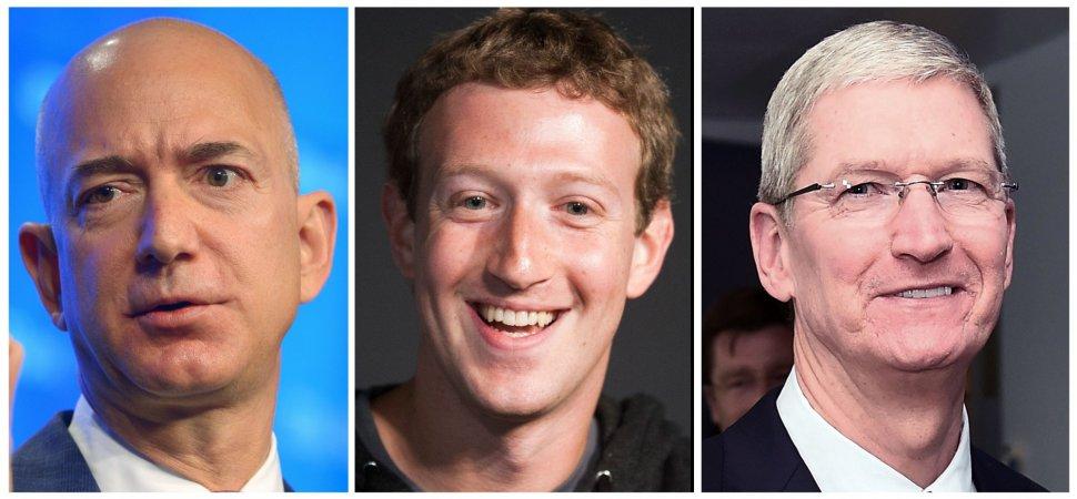 How Elon Musk Jeff Bezos Mark Zuckerberg And 18 Other Top Ceos