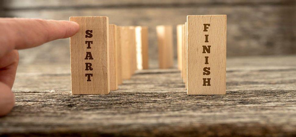 Backward Progress: For Better Results, Start at the End image