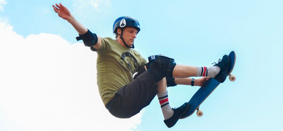 how a skateboarding legend helped tony hawk turn his passion into a